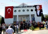 Bağış, Şafak Anadolu Sağlık Meslek Lisesini Açtı
